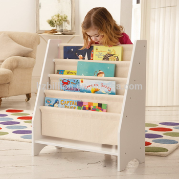 kids book display rack for wooden bookshelf