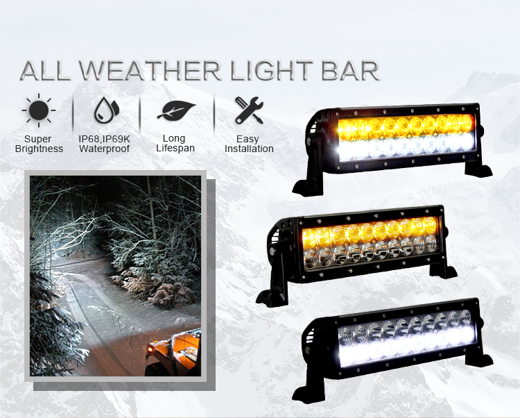 Factory Produced Aurora Led Light Bar And 4X4 Led Work Light Bar Led