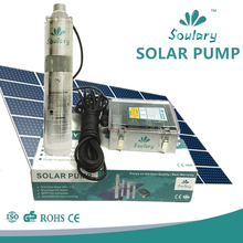 Popular 12v stainless steel brusuless solar pumps with orginal