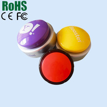 Round Shaped Voice Recording Sounds Button Craft Music Buttons