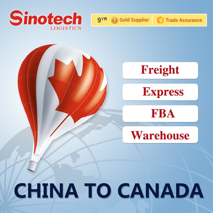 international air freight from China to Canada/air shipping service from China to Vancouver/Toronto/Montreal/Ottawa airport