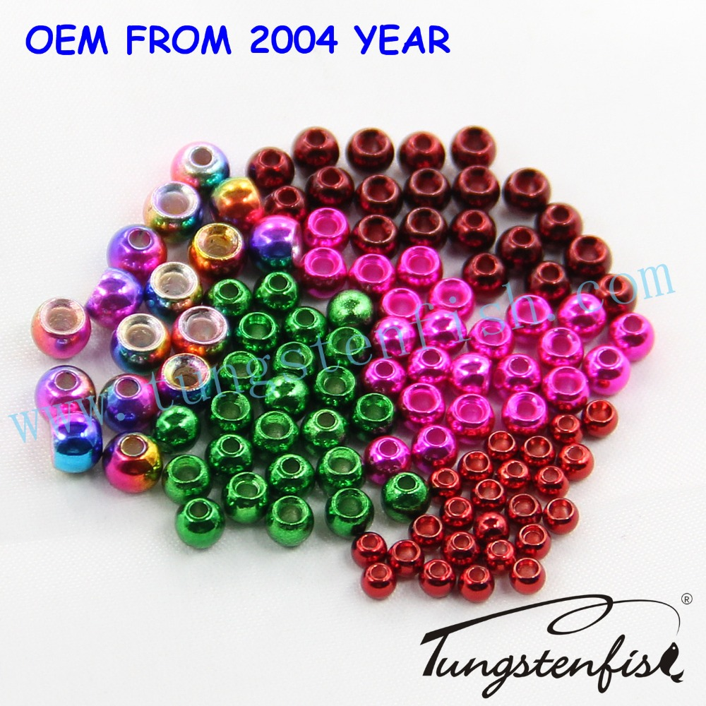 Fly tying Beads made in pure Tungsten Wholesale tungsten beads fly fishing
