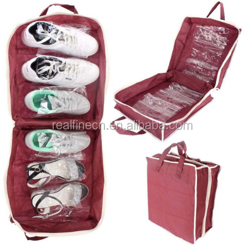 Vogue Travel Waterproof Ventilation Folding Storage organizer Portable shoe bags Necessities items Accessories Supplies Product