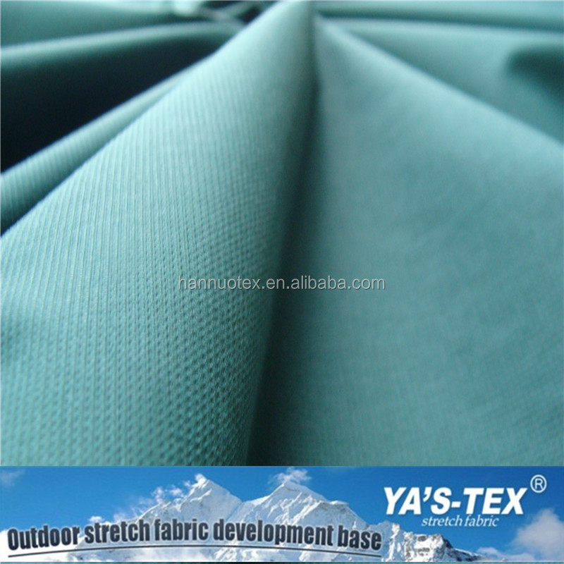 Stretch waterproof breathable 80 polyamide 20 elastane fabric used for sportswear