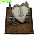 metal photo frame gift Antique color europe french souvenir