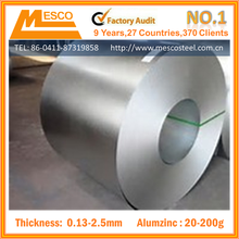 Anti finger AZ150 gavalume steel coil from Mesco Steel in China