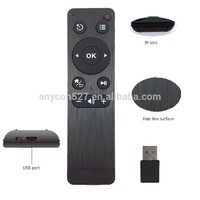 wireless fly mouse remote control with 2.4G wireless keyboard