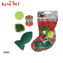 China Supplier Wholesale High Quality Natural Catnip Cat Toy christmas gift toy