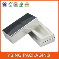 Silver Color Large paper box packaging pencil delicate design cases