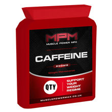 Muscle Power Max Caffeine tablets 200mg