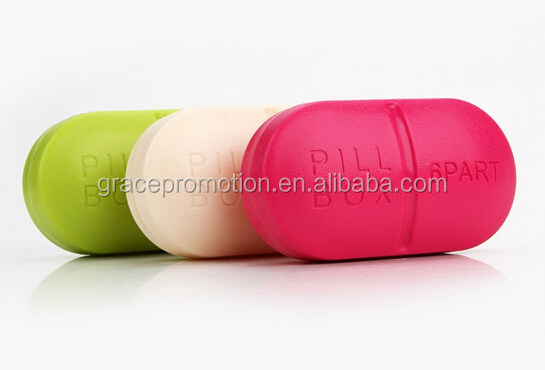 2014 hot selling vitamin organizer pill case plastic pill box