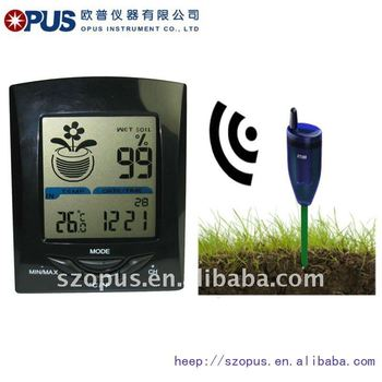 Cheap Wireless Soil Moisture Meter with Thermometer XH300
