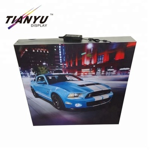 Frameless Indoor Outdoor Billboard Custom Textile Advertising Led Display