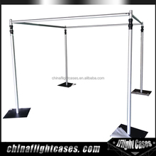 Easy Set Up Portable Pipe and Drape System for Wedding Party Backdrop Event Booth Decoration