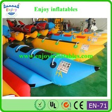 2015 Enjoy inflatable water obstacle course for adult, inflatable adult boat, inflatable paddle boat adult