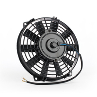 China manufacturer vehicle axial fans plastic blade DC 12v 9 inch
