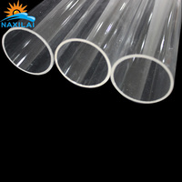 Extruded OD 50mm Clear Transparent Acrylic Tube / Pipe with Lower Price