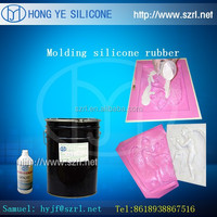 Two parts rtv silicone for palster crafts mold making--similiar to Dowcorning 3481