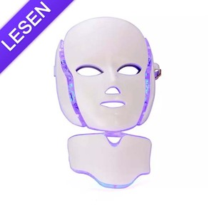 2018 Best selling product led light therapy mask 7 colors PDT mask Acne removal skin care mask