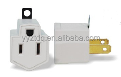 5-15p Surge protected grounding adapter RJ45/RJ11 protection