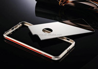 Luxury Metal Aluminium Bumper Mirror Back Case Cover For Apple iPhone 6