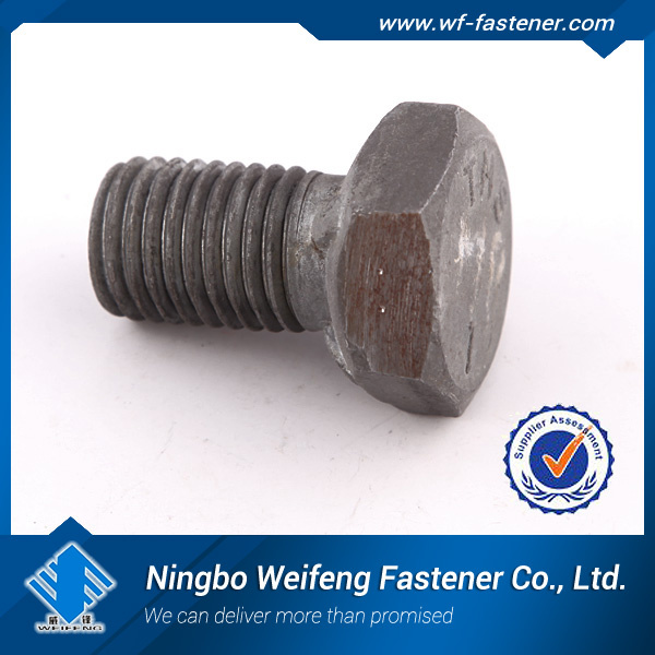 Wholesales Gr8 Stainless steel 316 hex head bolt