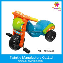 Funny plastic kid car 3 wheeler pedal tricycle