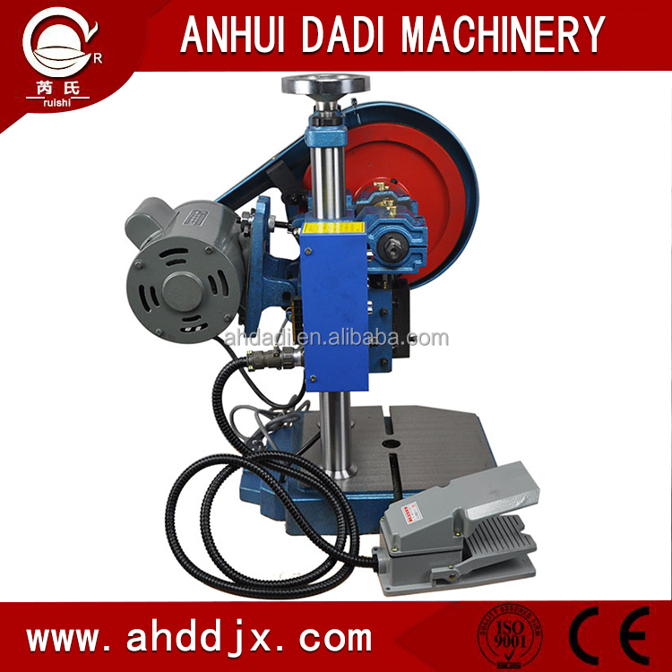 Table Mini Eccentric Power Press/ Desktop Eccentric Punching Machine