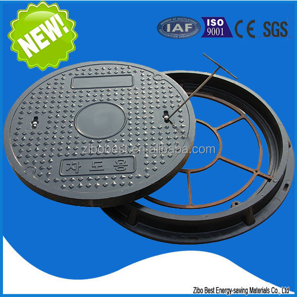 EN124 A100 bathtub materials light plastic sewer bmc manhole cover