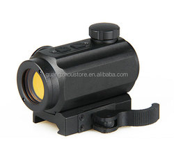 GZ2-0077 1X22X33 red dot/ 1X22X33 green dot reflex sight/red dot for airsoft