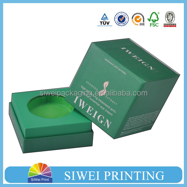 2016 wholesale logo printed recyclable cardboard folding box cosmetic in cosmetic box,perfume box