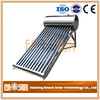 Unique new products 2016 evacuated tube portable copper coil solar water heater