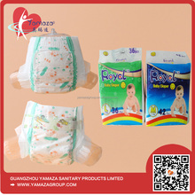 Low price OEM brands of disposable cheap baby cloth diaper factory in China