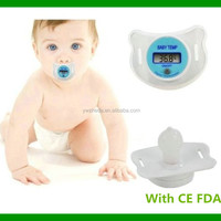 Digital Pacifier Baby Thermometer