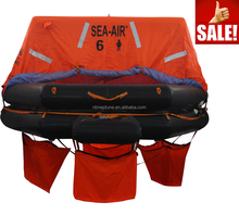 6 Man GRP Container Pack a Inflatable Rubber Life Raft