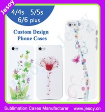 JESOY New Products Colored Drawing Case for apple iphone manufacturer, Design Plastic Telephone Case
