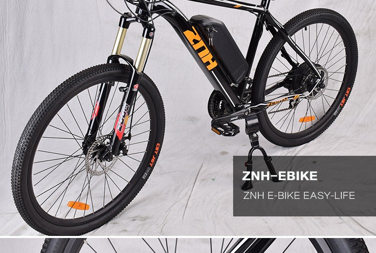 aluminum electric Mountain bike 36v 250w