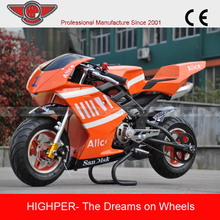High quality 49cc Mini Gas Motorcycle for sale(PB111)