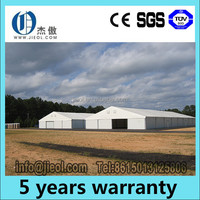 Large10-50m width Storage Warehouse canopy tents for outdoor