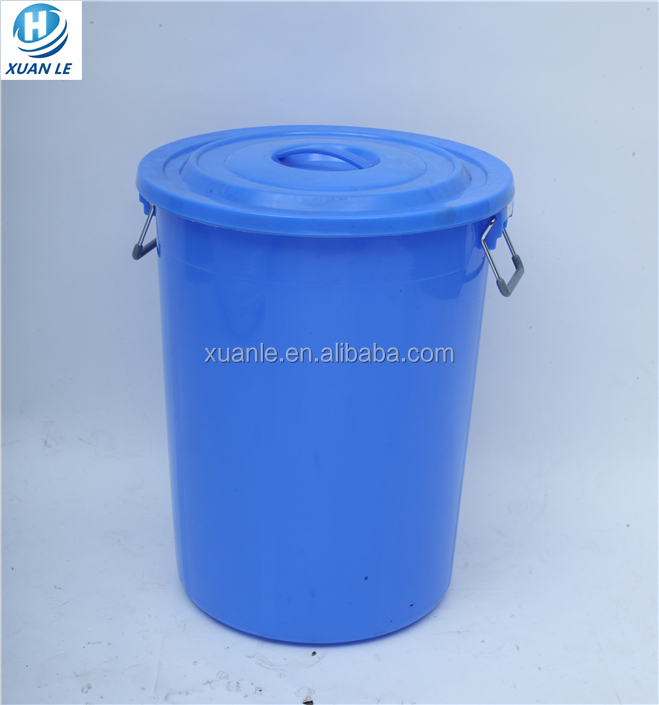 Cheap black large size plastic garbage bin for medical waste