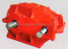 China made guo mao low price soft tooth cylindrical gear drive reduction