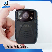 Full HD 1080P motion detecting remote control police body action camera