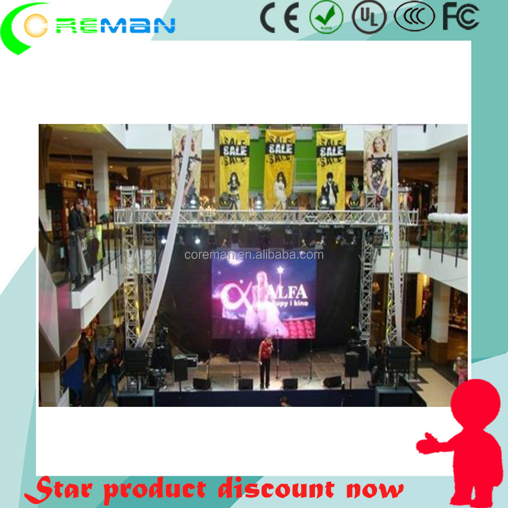 pioneer access 6mm outdoor led video wall / 8mm led rental outdoor panel / 10mm rental led screen cabinet lightweight