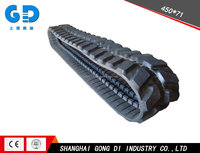 450x71 Rubber Track for Excavator