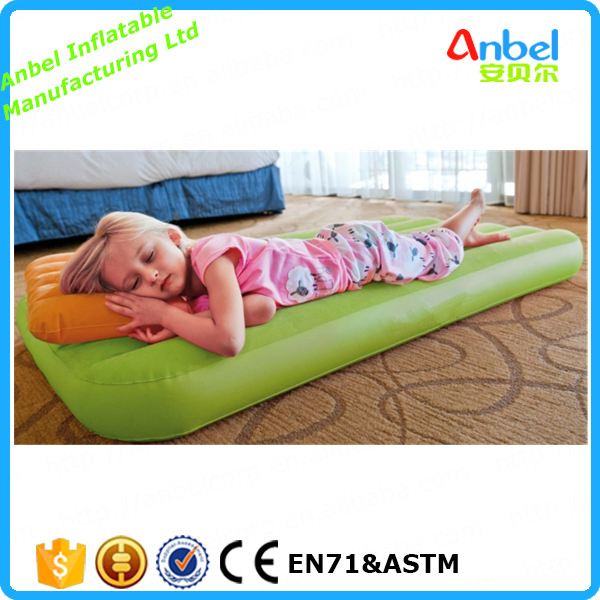 Anbel pretty solid colour inflatable mattress for kids