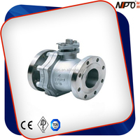 CF8M Stainless Steel 4 Inch Floating Ball Valve
