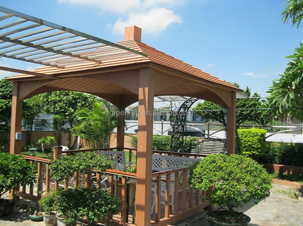 Precio barato de madera pvc pergola gazebo arcos - Precio pergola madera ...