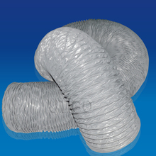 PVC coated nylon fabric flexible ventilation hose