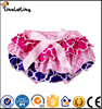 Cute Girls Polka Dots One Side Ruffle Bloomers Toddlers Cheap Cotton Ruffle Panties Cotton Baby Diaper Covers
