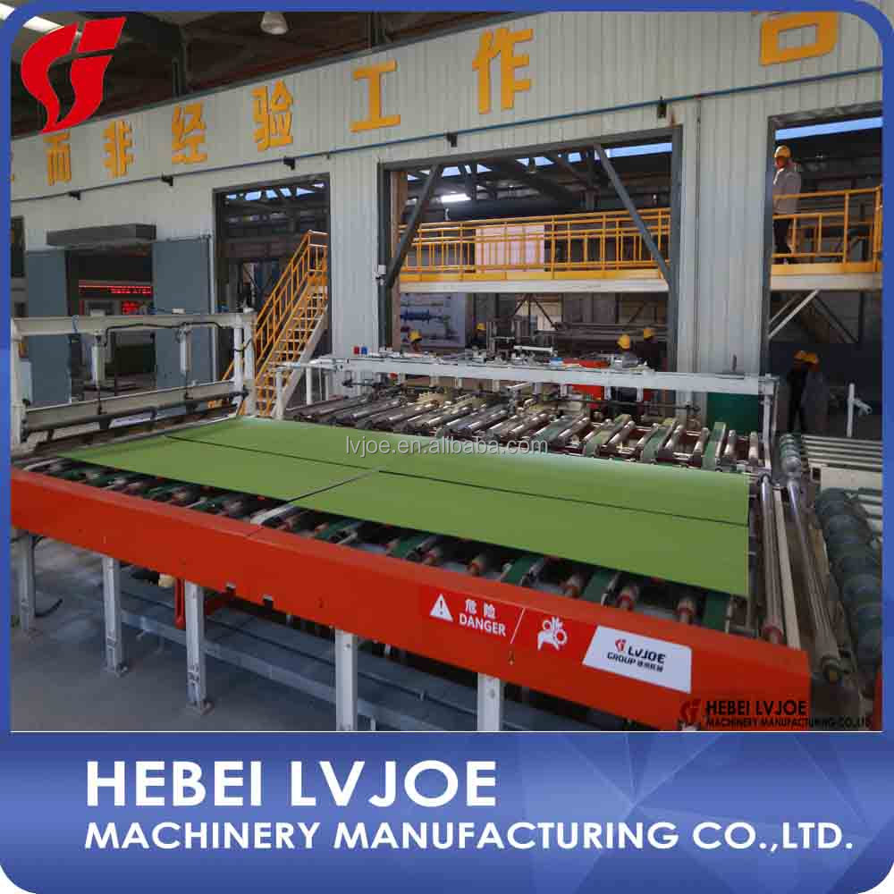 Gypsum board production line with Lvjoe company From China